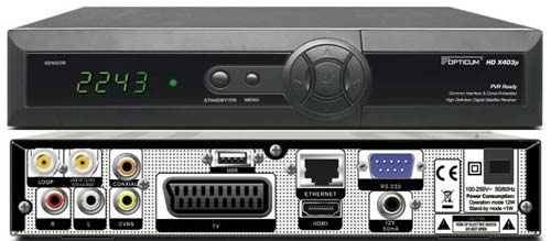 Globo HD X403p цифровой спутниковый ресивер