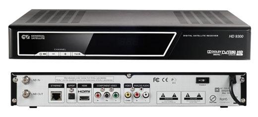General Satellite HD 9300 спутниковый ресивер