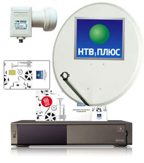 нтв плюс HD каналы Intek HD-S10VA0P
