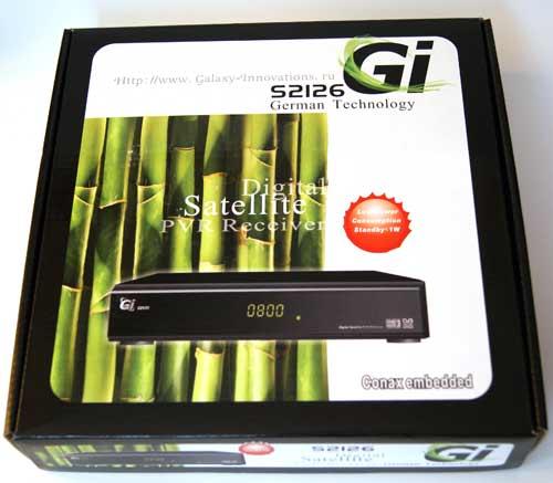 GI S2126 коробка ресивера