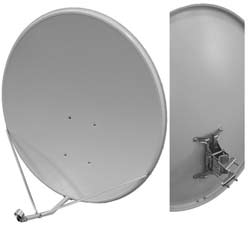 спутниковая антенна для чайников