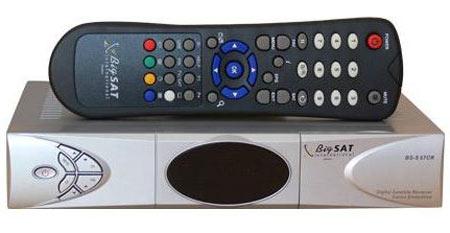 BigSAT BS-S67CR цифровой спутниковый ресивер