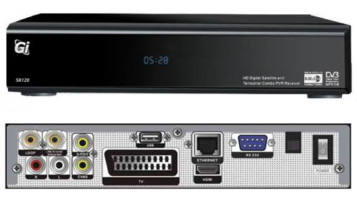GI S8120 спутниковый HD ресивер на Linux