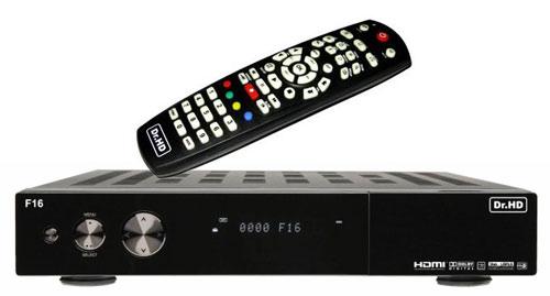 Dr. HD F16 DVB-S2 ресивер