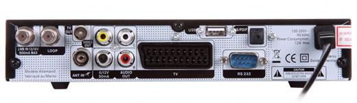 GI-S775 CR PVR interfeis