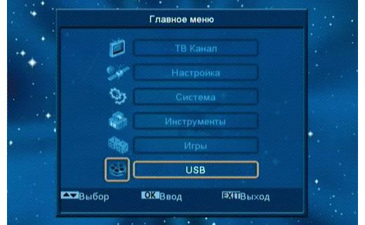 GI-S775 CR PVR main menu