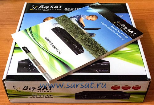BigSAT BS-S 67CR instrukziya