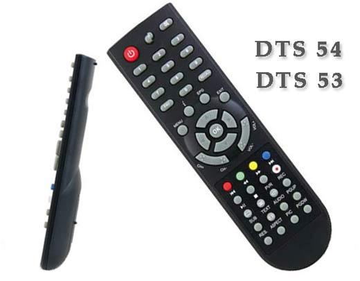 пульта ДУ для спутниковых ресиверов DTS 53, DTS 54