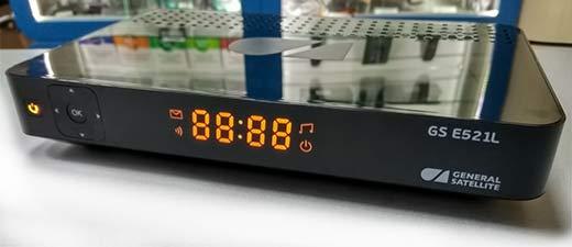передняя панель gs e521l