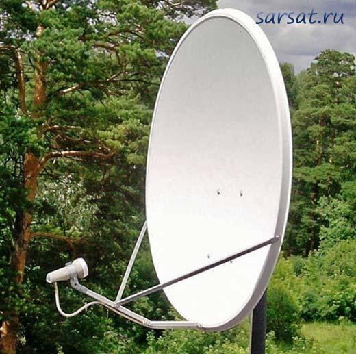 антенна на телекарту за городом