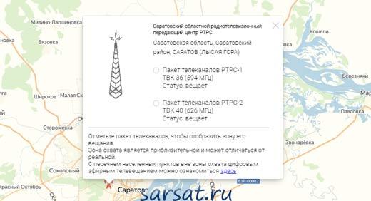 карта ртрс